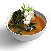 Суп «Мисо широ» + рис